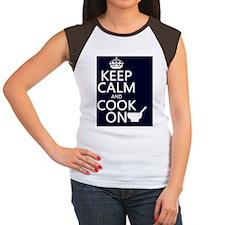 sm-port Women's Cap Sleeve T-Shirt