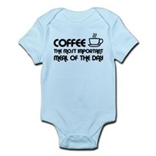 Coffee The Most Important Meal Infant Bodysuit