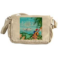 Tropical Travels Messenger Bag