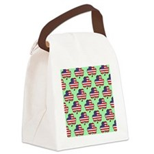 shower am shamrock green Canvas Lunch Bag