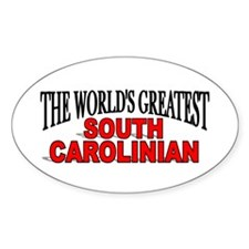 """The World's Greatest South Carolinian"" Decal"