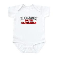 """The World's Greatest South Carolinian"" Infant Bod"