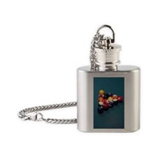 Billards Flask Necklace