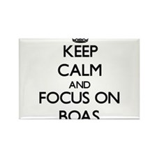 Keep calm and focus on Boas Magnets