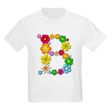 B Bright Flowers T-Shirt