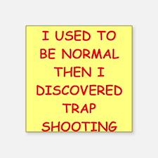 trap shooting Sticker