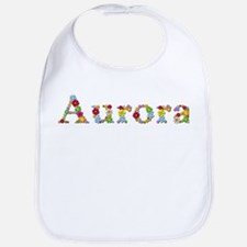 Aurora Bright Flowers Bib