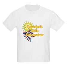 Grandpa's Little Firecracker T-Shirt