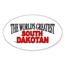 """The World's Greatest South Dakotan"" Decal"