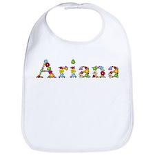 Ariana Bright Flowers Bib