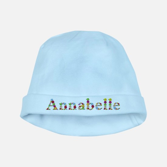 Annabelle Bright Flowers baby hat