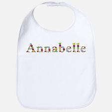 Annabelle Bright Flowers Bib