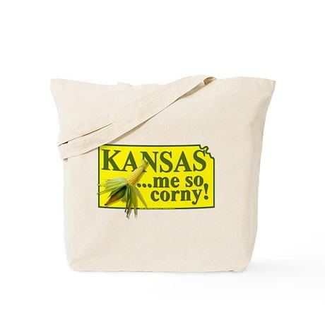 Kansas- Me So Corny! Tote Bag