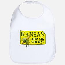 Kansas- Me So Corny! Bib