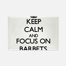 Keep calm and focus on Barbets Magnets