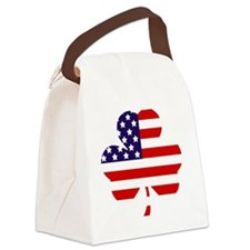 American shamrock 1 light Canvas Lunch Bag