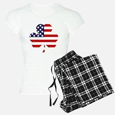 American shamrock 1 light Pajamas