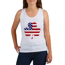 American shamrock 1 light Women's Tank Top