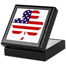 American shamrock 1 light Keepsake Box