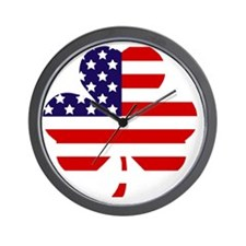American shamrock 1 light Wall Clock