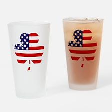 American shamrock 1 light Drinking Glass