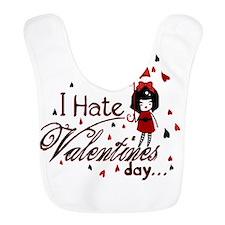 I Hate Valentine's Bib