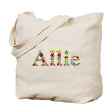 Allie Bright Flowers Tote Bag