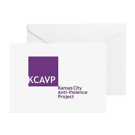 KCAVP logo Greeting Cards
