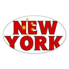 New York - China Decal