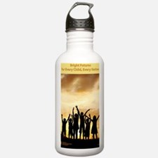 Bright Futures Poster Water Bottle