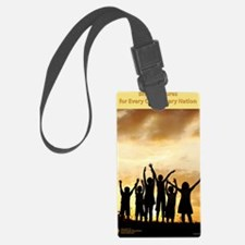 Bright Futures Poster Luggage Tag