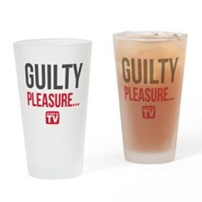 Guilty Pleasure Version 1 Drinking Glass