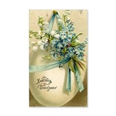 Vintage Easter Russuan Postcard Wall Decal