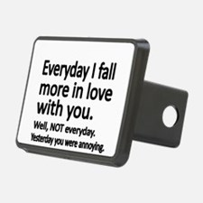 Everyday I fall more in love with you Hitch Cover