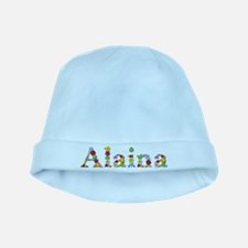 Alaina Bright Flowers baby hat