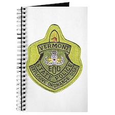 Vermont SP Bomb Squad Journal
