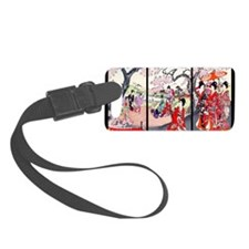 13 IN laptop sleeve Cherry Bloss Luggage Tag