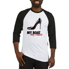 My Boat my rules Baseball Jersey