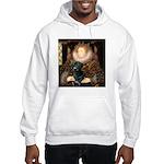 The Queen's Black Lab Hooded Sweatshirt