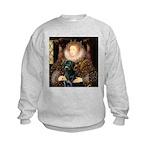 The Queen's Black Lab Kids Sweatshirt