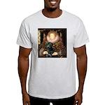 The Queen's Black Lab Light T-Shirt