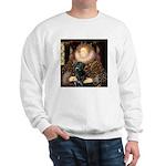 The Queen's Black Lab Sweatshirt