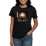 The Queen's Black Lab Women's Dark T-Shirt