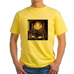 The Queen's Black Lab Yellow T-Shirt