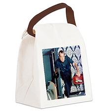 Richard Nixon Bowling Canvas Lunch Bag