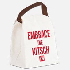 Embrace The Kitsch Version 1 Canvas Lunch Bag