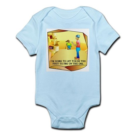 Geocaching First to Find Infant Bodysuit