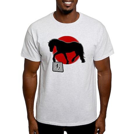 horse92dark Light T-Shirt