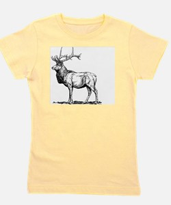 Stag Girl's Tee