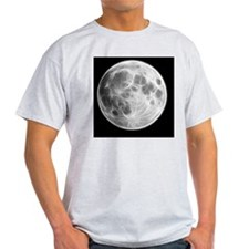 Full Moon Lunar Globe T-Shirt